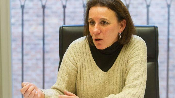 Ana Dom�nguez, concejala del grupo Ciudadanos en el Ayuntamiento de Madrid.