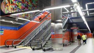 Nueva estaci�n de metro Paco de Luc�a en la l�nea 9.