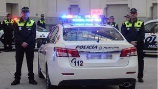 Nuevos coches de Polic�a.