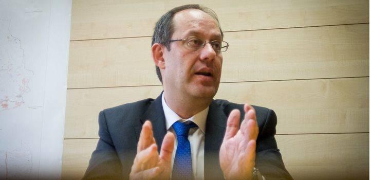 Ram�n Silva, portavoz socialista en el �rea de Seguridad, Emergencias y Salud del Ayuntamiento de Madrid
