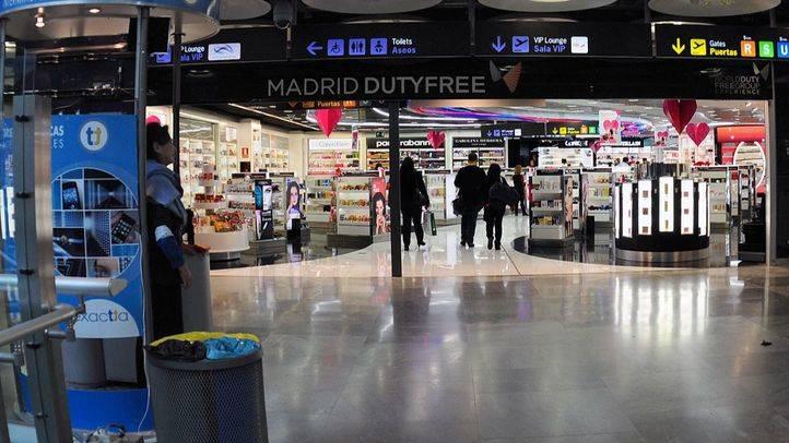 Aeropuerto Adolfo Suárez Madrid Barajas T4.