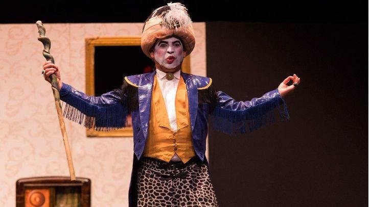 Escena de la obra teatral 'El burgués gentilhombre'