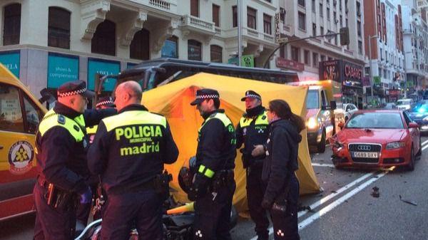 La polic�a investiga las circunstancias del accidente