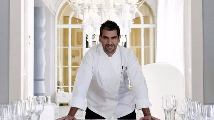 El cocinero Paco Roncero en el restaurante La Terraza del Casino