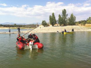 Trabajos de rescate en Valmayor