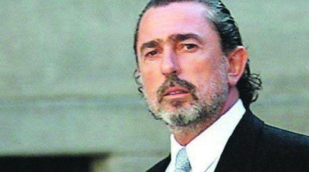 Francisco Correa, acusado en la trama Gürtel, en la boda de Ana Aznar