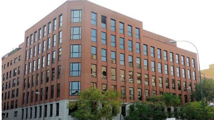 Sede provisional del Tribuna de Cuentas en la calle Ortega y Gasset,100