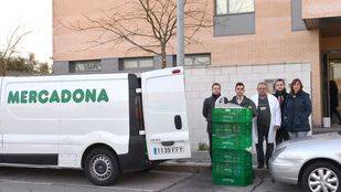 Mercadona donará diariamente alimentos frescos al comerdor social Vicente Ferrer en Valdemoro