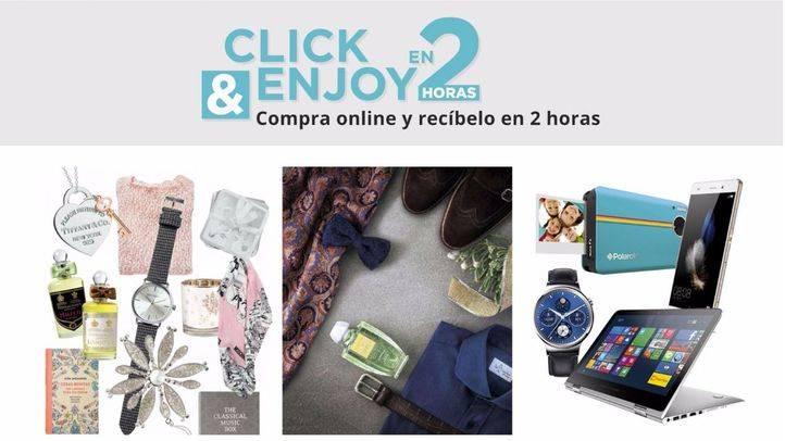 El Corte Inglés amplía a 14 ciudades su compra online con entrega 'express'