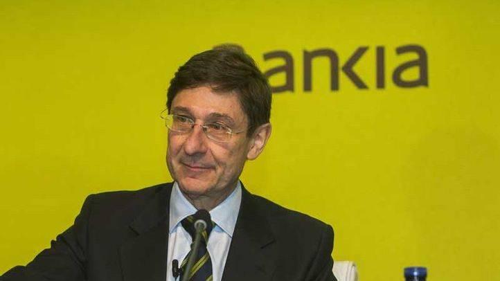 José Ignacio Goirigolzarri en la Junta General de Accionistas de Bankia