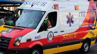 Ambulancia del samur (archivo)