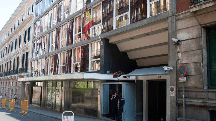 Edificio de la Audiencia Nacional en la calle Prim
