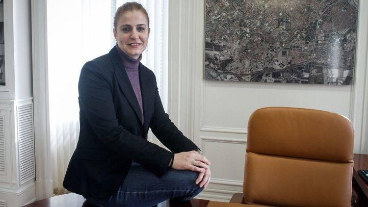 Esther G�mez,concejala presidenta de Carabanchel