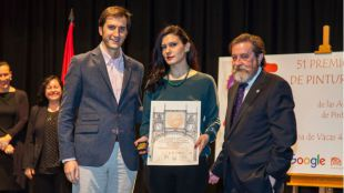 Cristina Gamón, ganadora del 51 Premio Reina Sofía de Pintura y Escultura