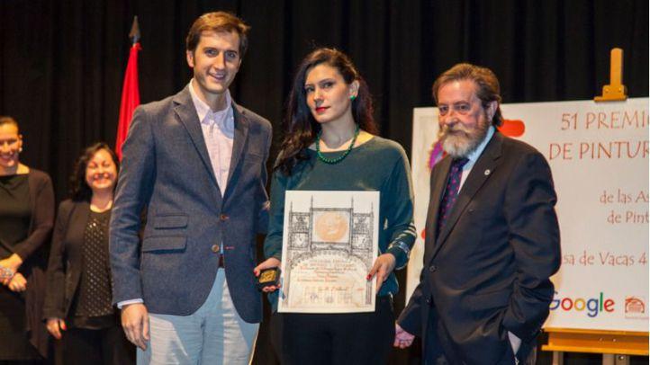 Cristina Gamón recibe el Premio Reina Sofía de Pintura y Escultura