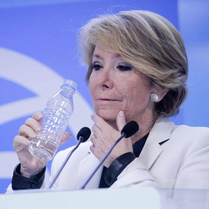 Esperanza Aguirre: 'No ha habido que yo sepa financiación ilegal del PP de Madrid'