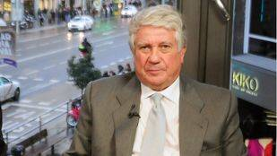 Arturo Fernandez, expresidente de CEIM y de la C�mara de Comercio de Madrid.