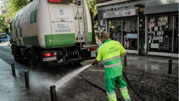 Las limpiezas intensivas llegan a partir del lunes a 20 distritos de la capital