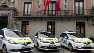 Nuevos coches de Polic�a Municipal de Madrid