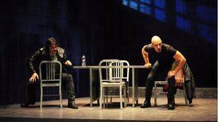 LLuvia constante de Keith Huff en sala verde de Teatros del Canal