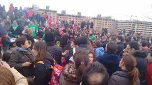 Familias de Las Tablas se manifiestan para exigir la construcción del instituto prometido