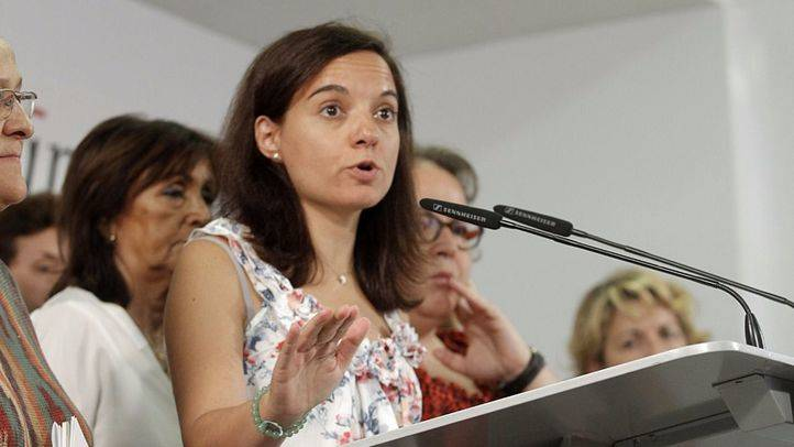 Sara Hern�ndez se reune con la intersectorial del PSOE para tratar temas sobre violencia de g�nero.