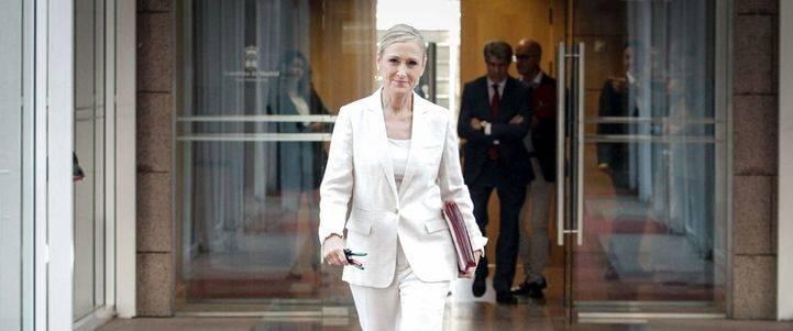 Cristina Cifuentes presidirá la gestora del PP de Madrid tras la dimisión de Aguirre
