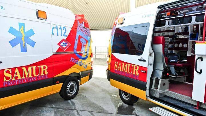 Ambulancia Samur (archivo)