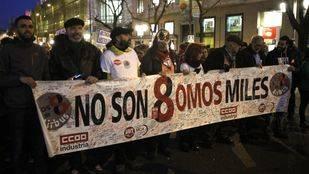Absueltos los 'ocho de Airbus' acusados de delitos contra los derechos de trabajadores, atentado y lesiones