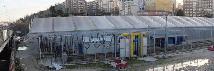 Antiguas cocheras del Metro en Ventas, terrenos y naves