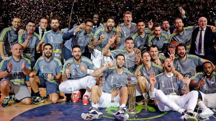 El Real Madrid de Baloncesto conquista su 26ª Copa del Rey