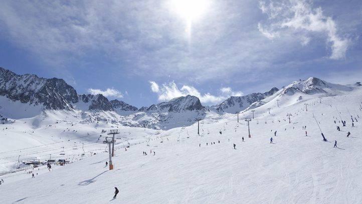 Pistas de esquí en Grandvalira (Andorra)