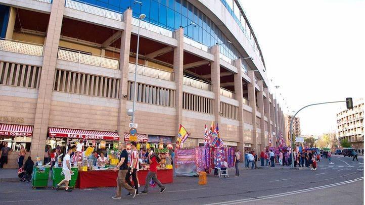La final de la Copa del Rey de fútbol se celebrará en el Vicente Calderón el 22 de mayo