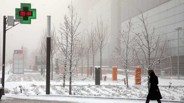 Madrid podría amanecer nevado este sábado