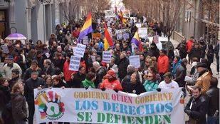 Las Mareas Ciudadanas reivindican en las calles los derechos sociales y laborales