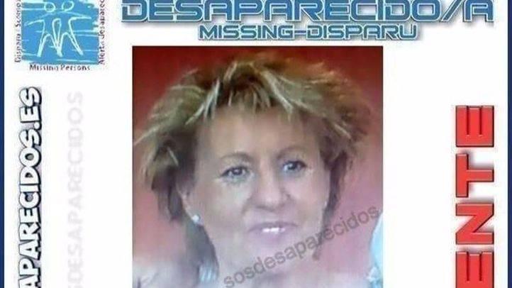Carmen Roldán, mujer de 57 años desaparecida en Alcorcón.