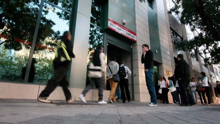 El número de parados en la Comunidad de Madrid sube en 2.210 personas en febrero