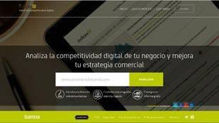 Web de Bankia Índicex