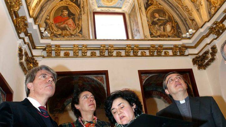 Concluyen los trabajos de restauración de la Iglesia de San Pedro Ad Vincula