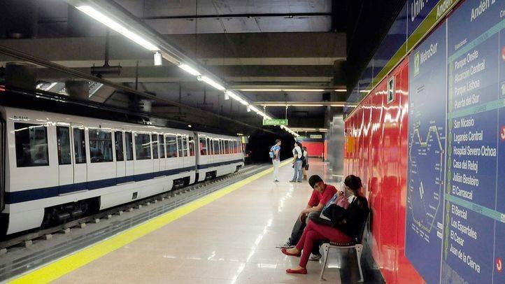 Restablecido el servicio de MetroSur tras 12 horas suspendido