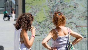 El gasto de los turistas internacionales en la Comunidad bajó un 6,8% en enero