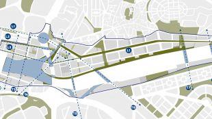 El Distrito Castellana Norte presenta su plan para mejorar las comunicaciones en la zona