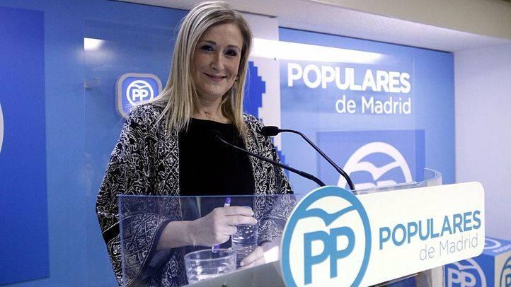 Cifuentes dejará la Presidencia de la Gestora si decide presentarse a presidir el PP de Madrid