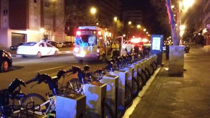 Trasladan al ciclista atropellado en Alberto Alcocer.