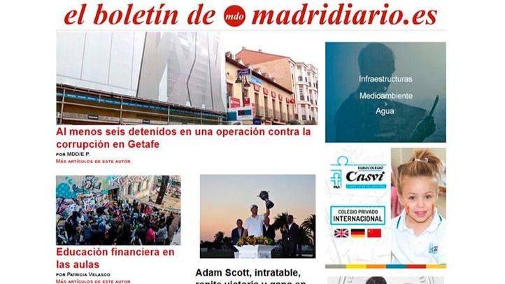 El boletín de Madridiario se renueva: recibe toda la actualidad madrileña en tu mail