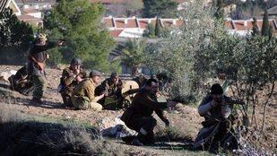 Morata, escenario de una recreación histórica de la Batalla del Jarama