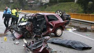 Las bajas por accidentes de tráfico tienen un coste laboral de unos 175 millones de euros al año