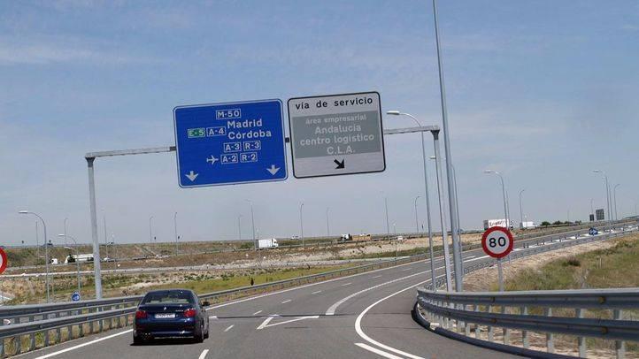 autopista circunvalación M50. (Archivo)