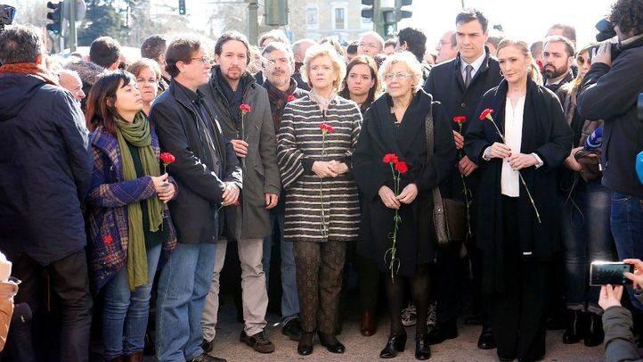 Un homenaje a las víctimas del 11-M marcado por la unidad