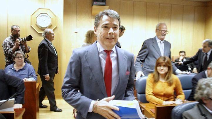 Ignacio González, en la comisión de investigación de la corrupción en la Asamblea de Madrid.
